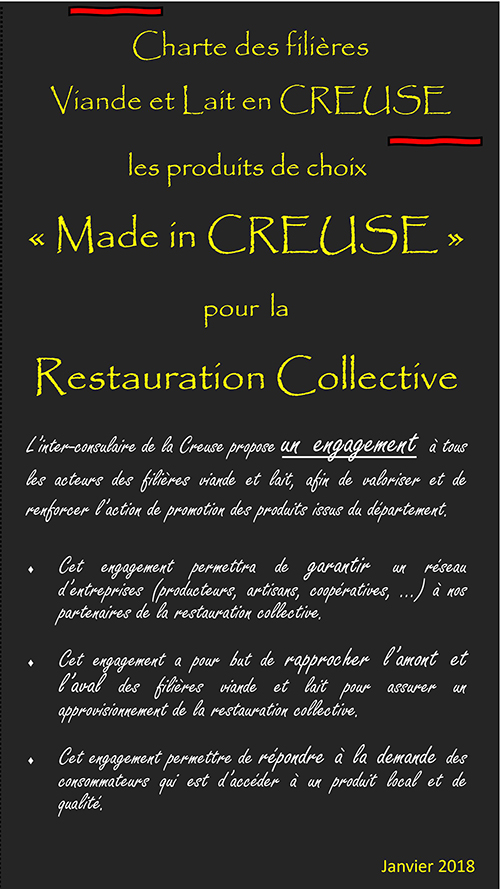 Restauration collective creuse - Chambre agriculture creuse ...