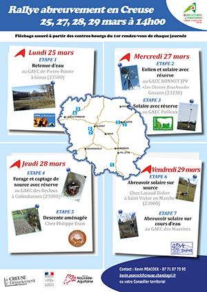 Chambre D'agriculture Rallye Abreuvement En Creuse WHI2D9EY